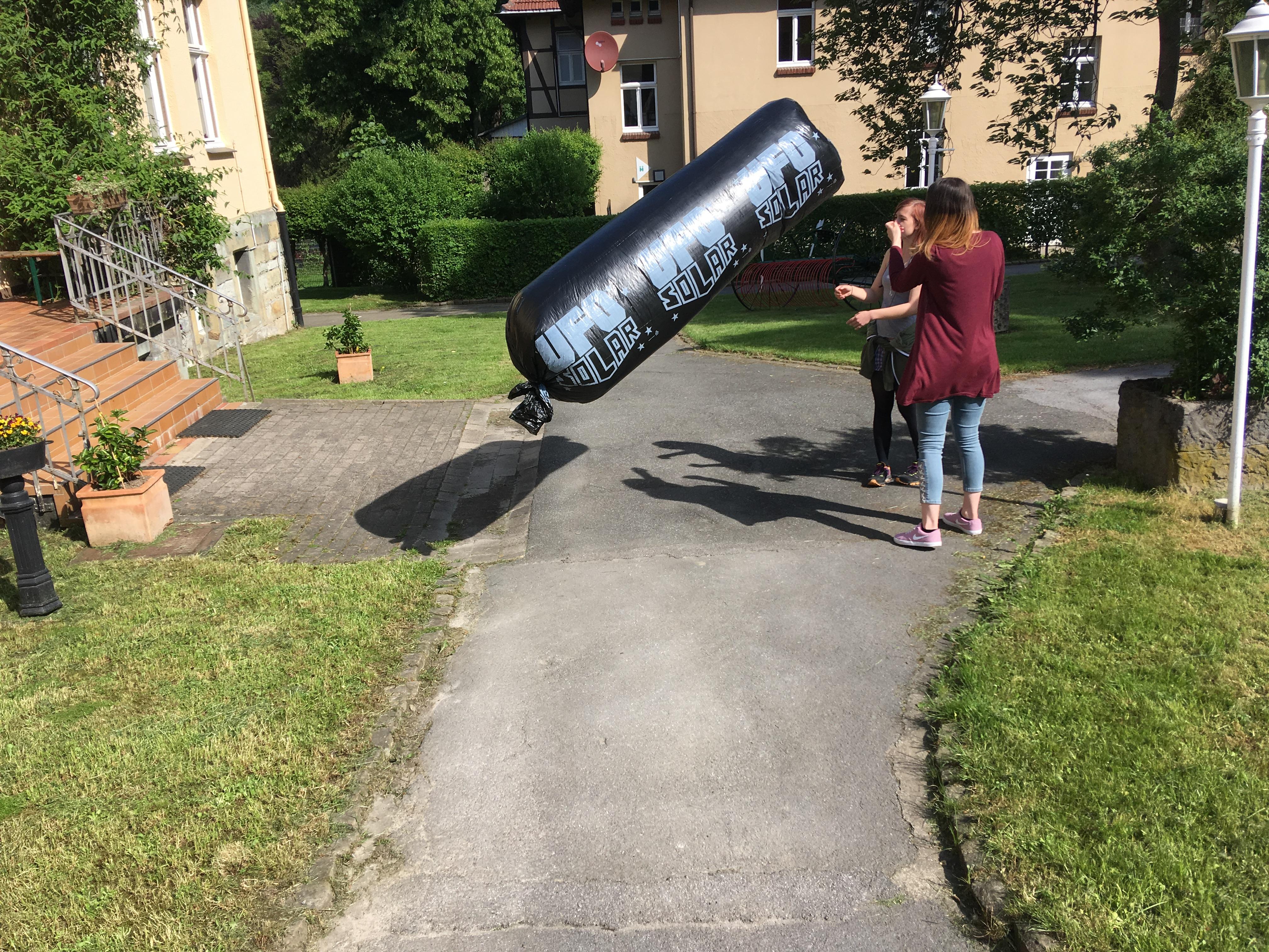 "Solarluftschiff ""Bernd"""